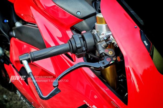 Ducati V4S Panigale do sieu tuong voi dan trang bi khung khiep - 4