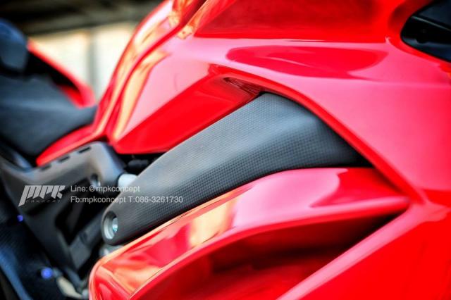 Ducati V4S Panigale do sieu tuong voi dan trang bi khung khiep - 6