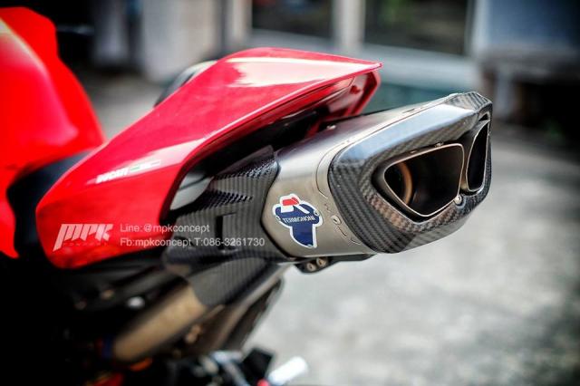 Ducati V4S Panigale do sieu tuong voi dan trang bi khung khiep - 14