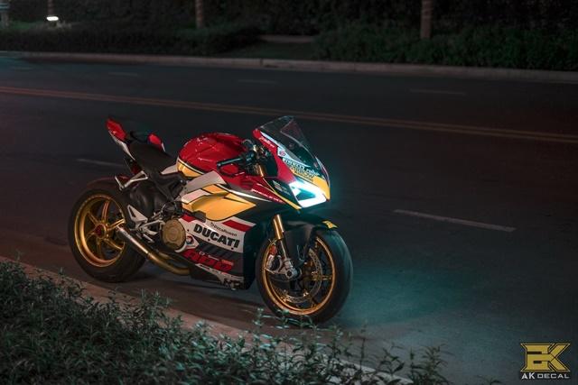 Ducati V4S Panigale Man nhan voi ban do sieu cap cua Biker Viet - 4