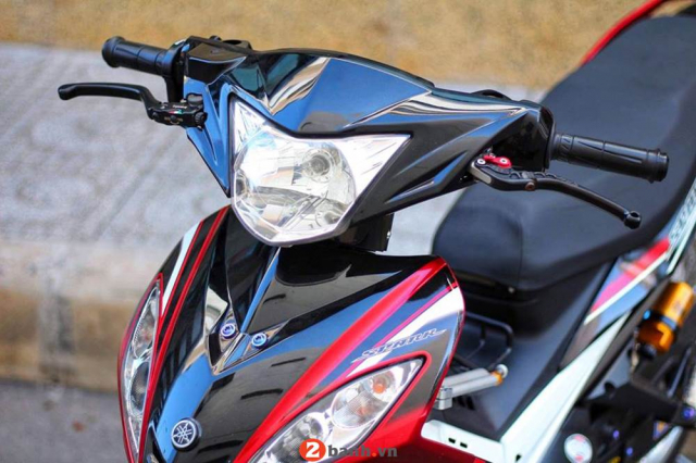 Exciter 135 ban do chi con trong ky niem cua chang trai chay Sonic