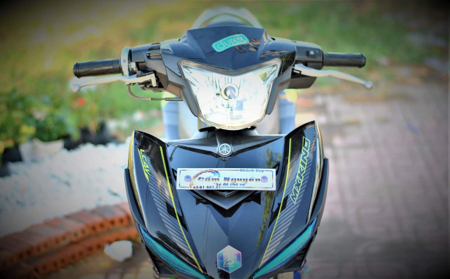 Exciter 150 do cho vo di cho cua biker mien song nuoc