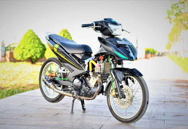 Exciter 150 do cho vo di cho cua biker mien song nuoc - 5