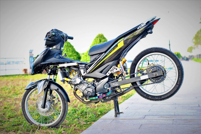 Exciter 150 do cho vo di cho cua biker mien song nuoc - 7