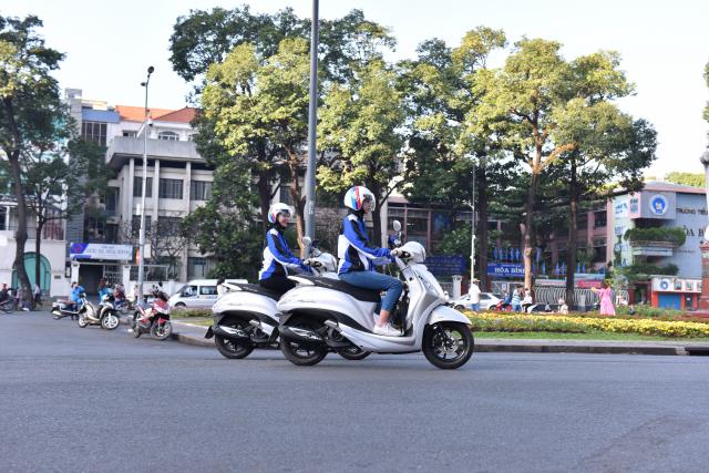 Grande Hybrid xac lap 2 ky luc Viet Nam cho Yamaha Motor - 6