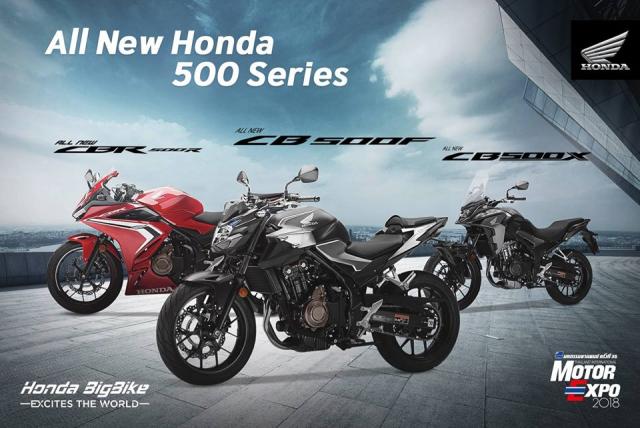 Li do gi khien Honda 500 Series the he moi khong the tang cong suat