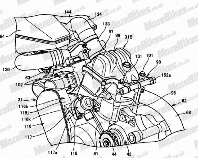 Honda dang chuan bi thiet ke chiec xe VTwin sieu nap hoan toan moi - 4