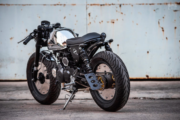 Honda Monkey 125 do chat choi voi phong cach Cafe Racer den tu KSpeed - 6