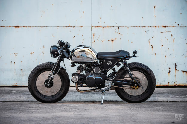 Honda Monkey 125 do chat choi voi phong cach Cafe Racer den tu KSpeed - 8