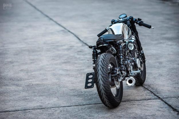 Honda Monkey 125 do chat choi voi phong cach Cafe Racer den tu KSpeed - 9