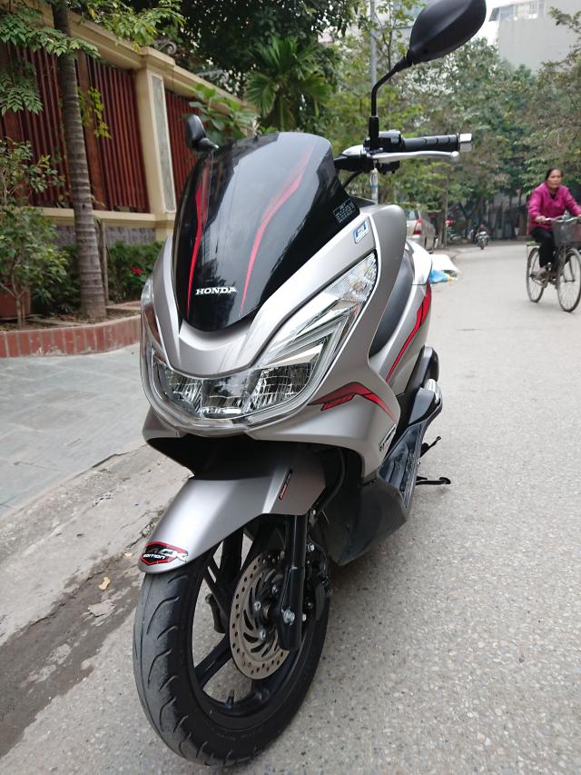 Honda Pcx 125i New 2016 den Led Ghi nham chinh chu bien HN con rat moi 42tr - 5