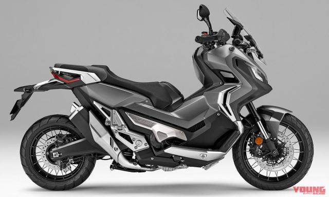Honda ra mat XADV 2019 voi nhieu lua chon mau cuc hot - 4