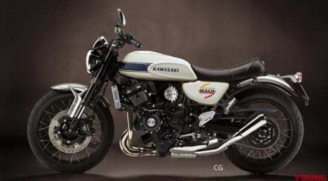 Kawasaki chuan bi tham nhap thi truong Neo Classic voi 4 ten tuoi Z650RS Z400RS Z250RS H1 - 5