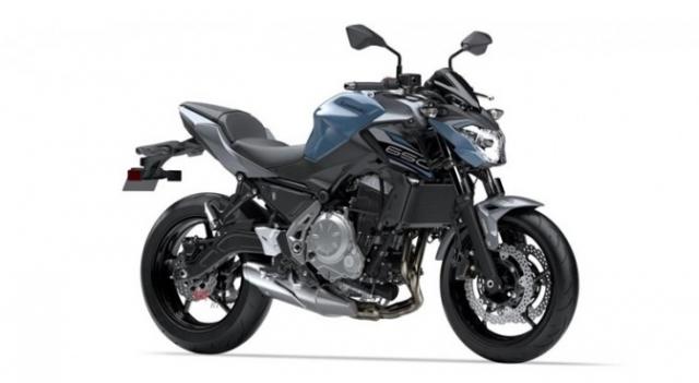 Kawasaki Z650 2019 bo sung them mau moi them phan ca tinh the thao