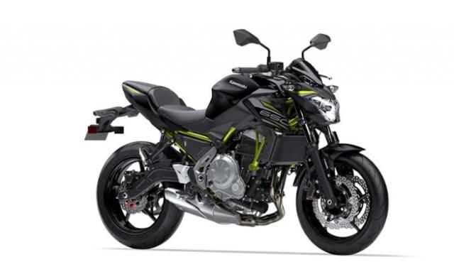 Kawasaki Z650 2019 bo sung them mau moi them phan ca tinh the thao - 4