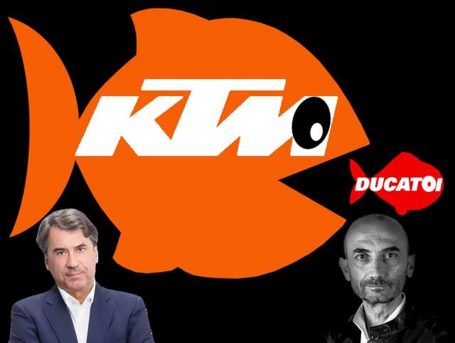 KTM tra gia hon 15 ty EURO de mua lai thuong hieu Ducati