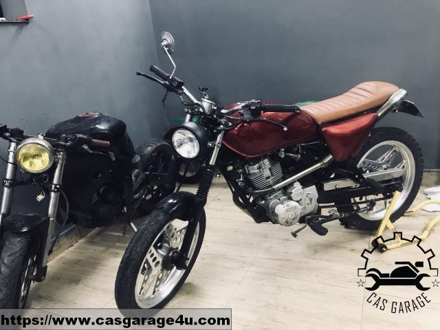 Locin wolf lien doanh 110cc do tracker CAS Garage - 3
