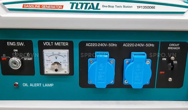 May phat dien chay xang TOTAL 35KW TP135006E - 4