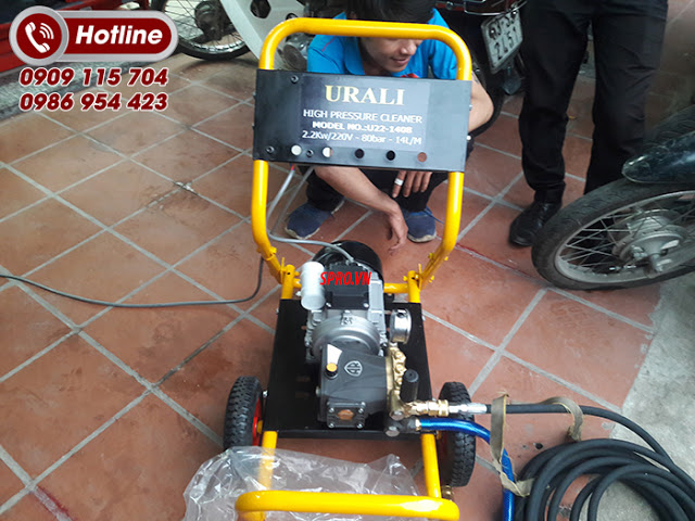 May rua xe Urali AR U221408 80Bar Italia - 4