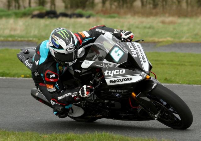 Michael Dunlop tro lai duong dua dau quan cho doi dua TYCO BMW - 7