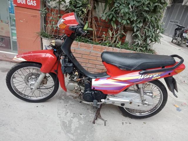 Minh ban chiec xe wave thai 110cc mau do phanh dia xe nguyen ban