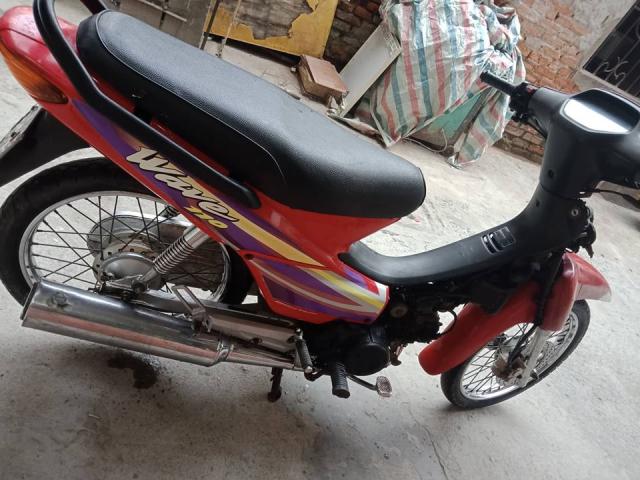 Minh ban chiec xe wave thai 110cc mau do phanh dia xe nguyen ban - 5