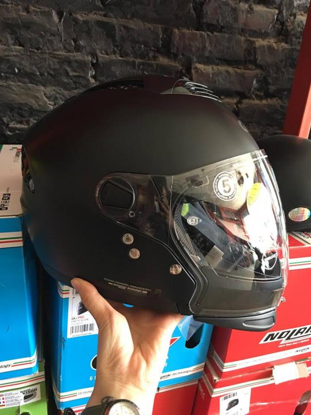 MTstore Mu bao hiem motor NOLAN tu ITALIA Xu huong moi cho cac biker Viet Nam - 3