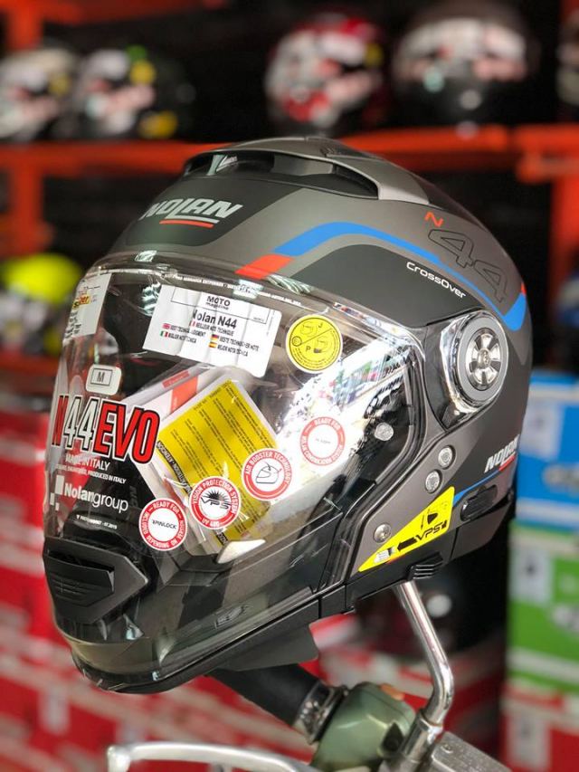 MTstore Mu bao hiem motor NOLAN tu ITALIA Xu huong moi cho cac biker Viet Nam - 2