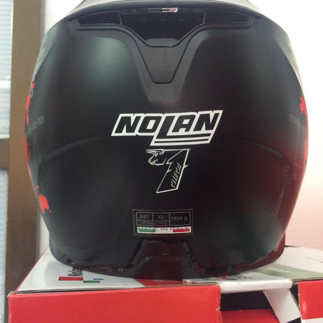 MTstore Nolan N87 CCheca Flat Black
