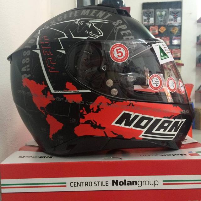 MTstore Nolan N87 CCheca Flat Black - 2