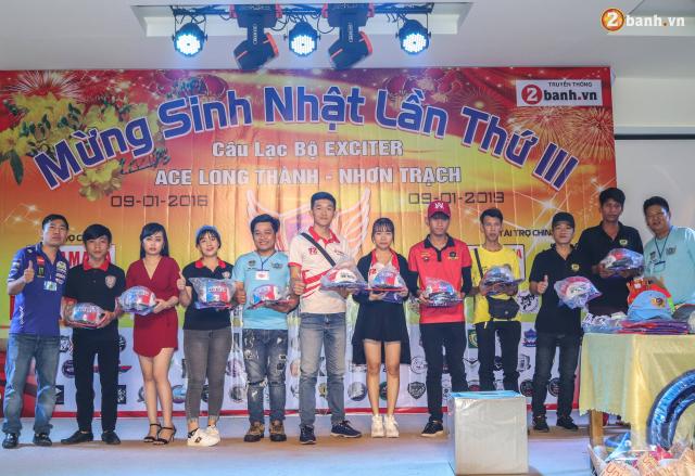 Nhin lai chang duong 3 nam hoat dong cua Club Exciter ACE Long Thanh Nhon Trach - 34