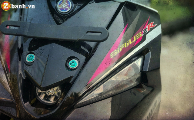 Sirius do mang ve dep cach dieu day ca tinh cua biker Viet