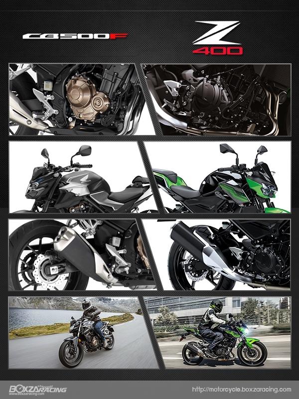 So sanh Honda CB500F VS Kawasaki Z400 2019 - 25
