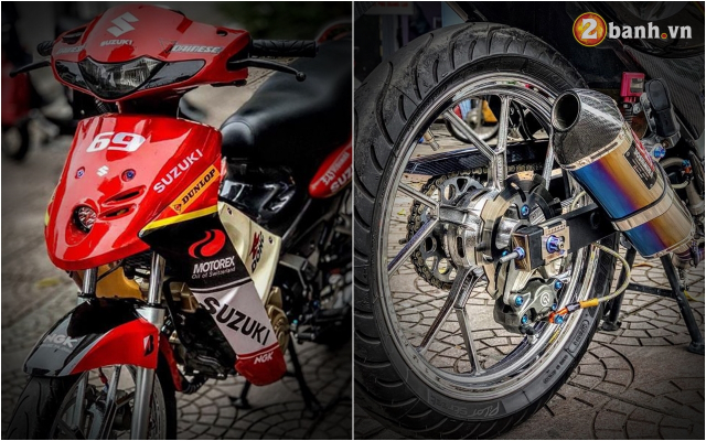 Suzuki FX 125 do man hoi sinh manh liet voi niem khao khat 1 thoi cua biker Viet