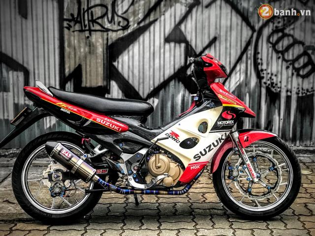 Suzuki FX 125 do man hoi sinh manh liet voi niem khao khat 1 thoi cua biker Viet - 8