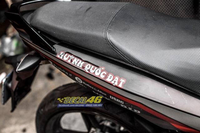 Tem xe Exciter 150 2019 Ducati nhom den do tai Decal 46 - 4