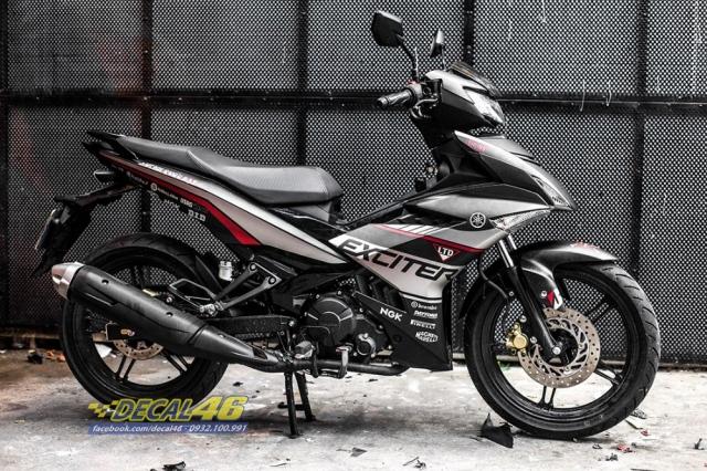Tem xe Exciter 150 2019 Ducati nhom den do tai Decal 46