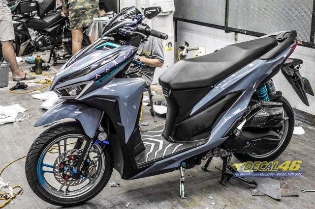 Tem xe Vario 2018 Mau xi mang Nadro Grey tai Decal 46 - 3