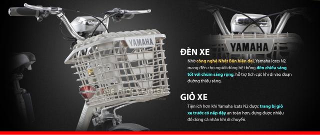 Uu diem mau xe dap dien Yamaha Icats N2 chinh hang - 2