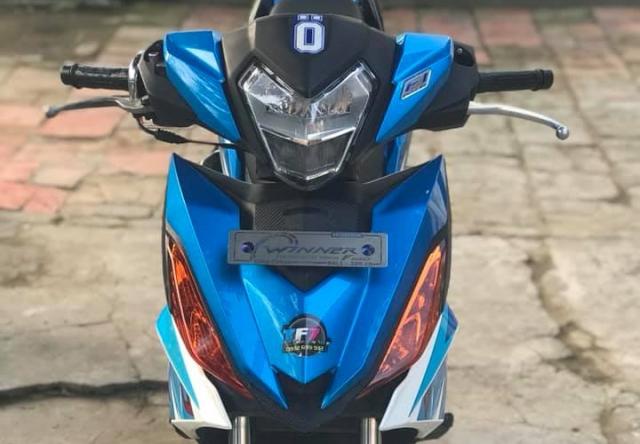 Winner 150 do dan chan luoi lam cuc ben cua biker Tra Vinh