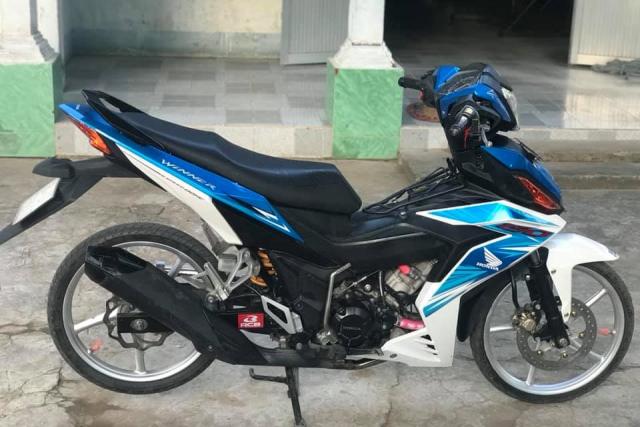 Winner 150 do dan chan luoi lam cuc ben cua biker Tra Vinh - 6