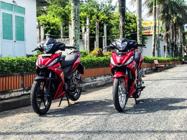 Winner 150 do voi nhung nang cap mang duong net tuyet my cua biker Bac Lieu