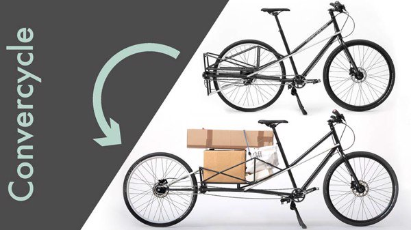Xe dap gap Convercycle bike 2 in 1 - 2