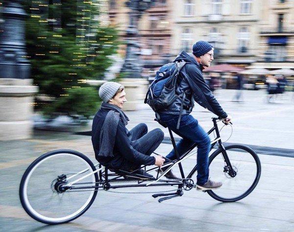 Xe dap gap Convercycle bike 2 in 1 - 4