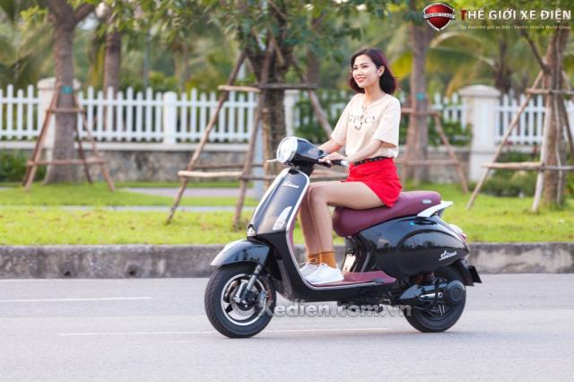 Thong tin chung ve xe dien Vespa Dibao