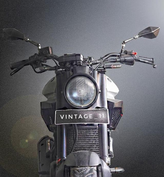 Yamaha Fz150i do theo phong cach Neo Retro day phong tran - 5