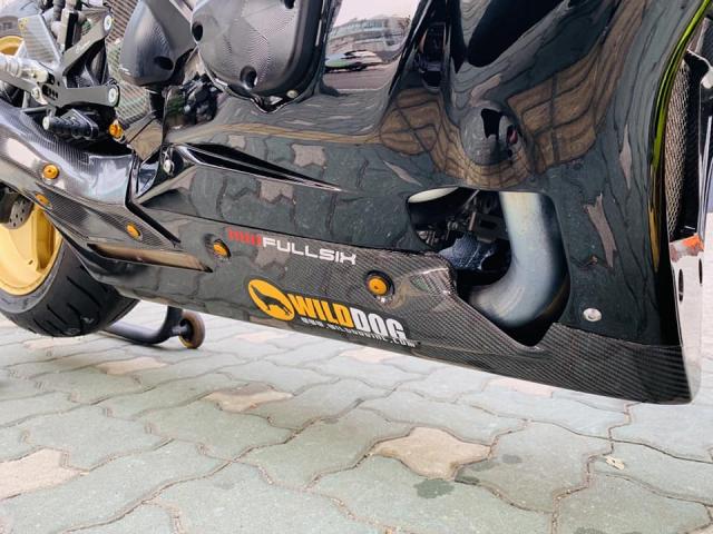 Yamaha R1 phien ban Ca Tre hoa cuong voi dan do cuc chat - 10