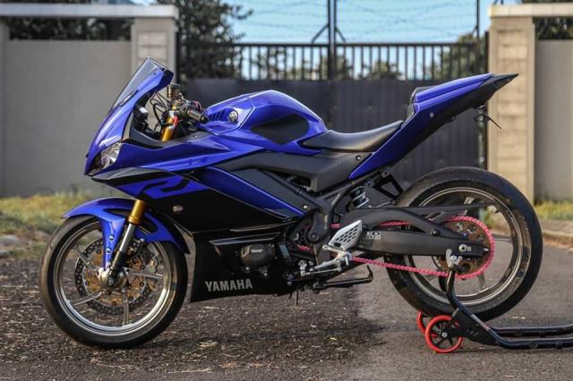Yamaha R3 2019 do cuc shock voi dan chan OZ Racing hang nang - 3