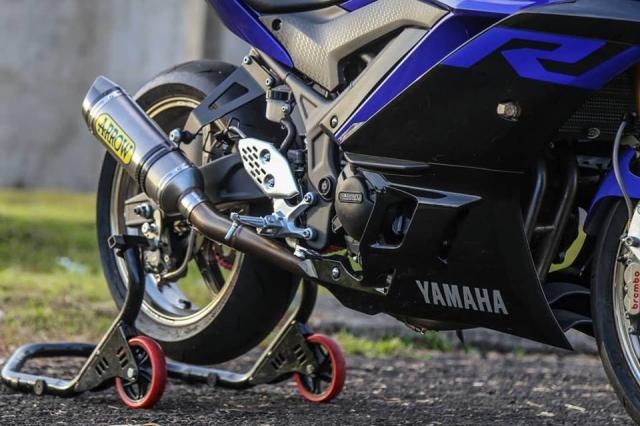 Yamaha R3 2019 do cuc shock voi dan chan OZ Racing hang nang - 7