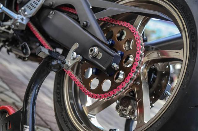 Yamaha R3 2019 do cuc shock voi dan chan OZ Racing hang nang - 9